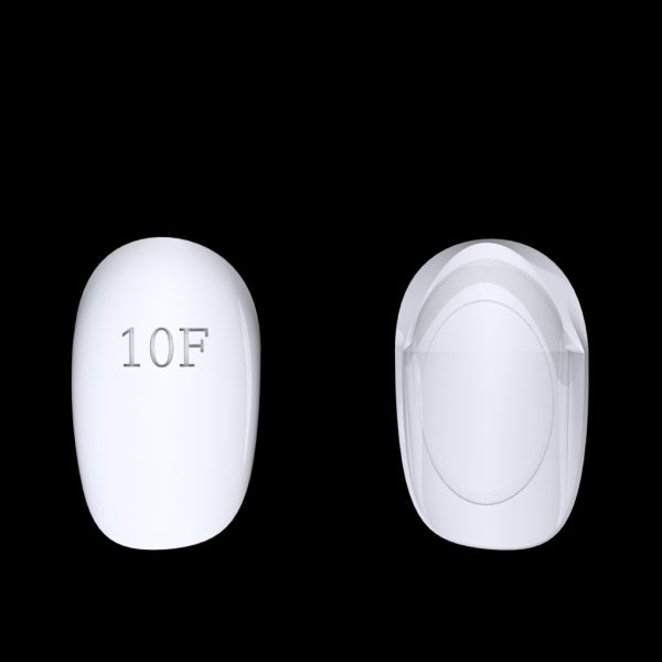 Tiptonic Finger Pick 10F - top and bottom view