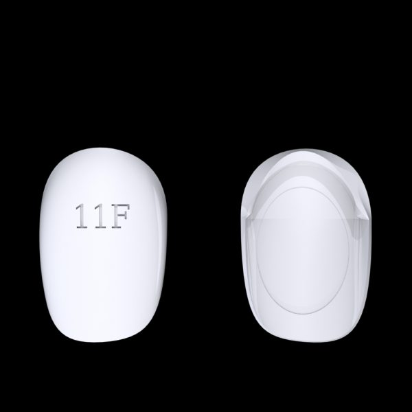 Tiptonic Finger Pick 11F - top and bottom view