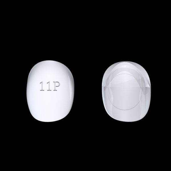 Tiptonic Finger Pick 11P - top and bottom view