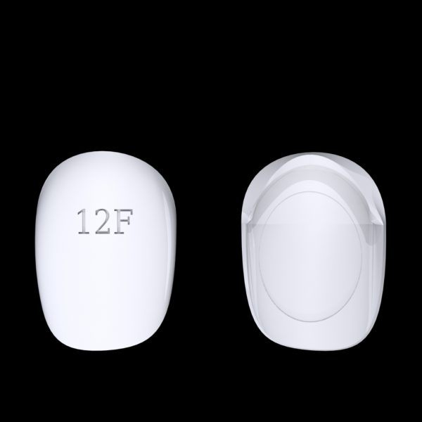 Tiptonic Finger Pick 12F - top and bottom view