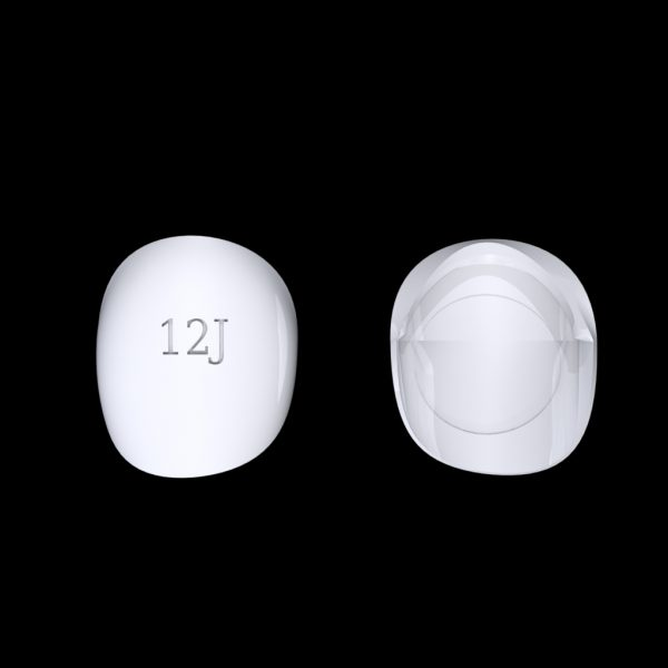 Tiptonic Finger Pick 12J - top and bottom view