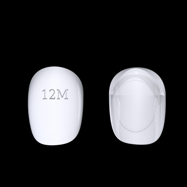 Tiptonic Finger Pick 12M - top and bottom view