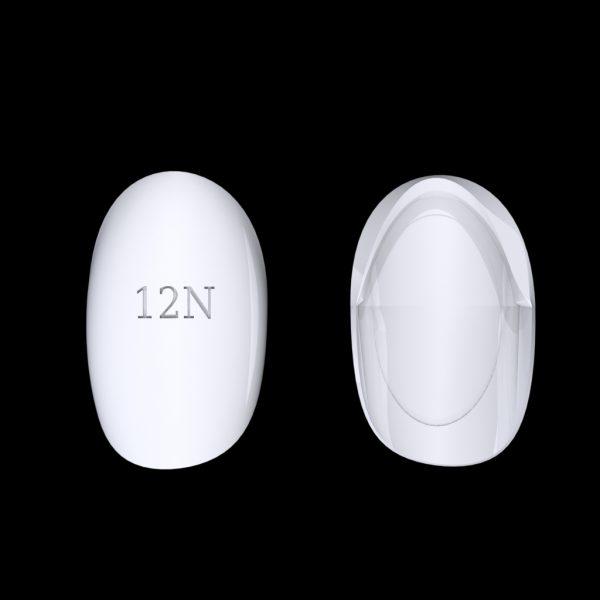 Tiptonic Fingernail Pick 12N - top and bottom view