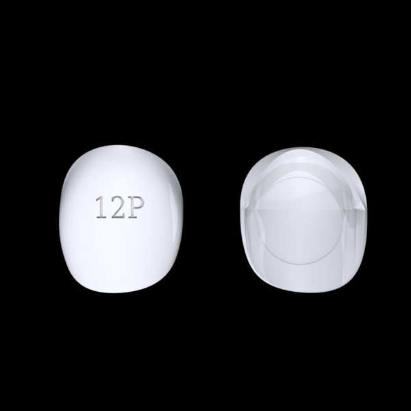 Tiptonic Finger Pick 12P - top and bottom view