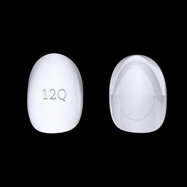 Tiptonic Fingernail Pick 12Q - top and bottom view