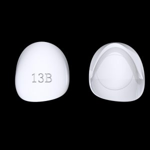 Tiptonic Fingernail Pick 13B - top and bottom view