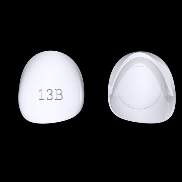Tiptonic Finger Pick 13B - top and bottom view