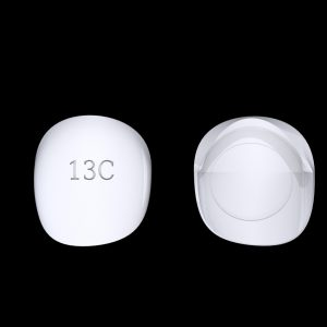 Tiptonic Finger Pick 13C - top and bottom view