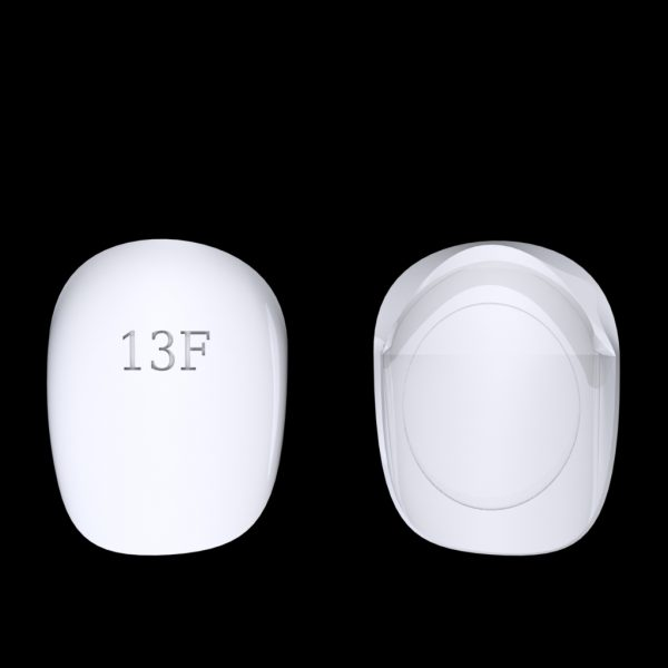 Tiptonic Finger Pick 13F - top and bottom view