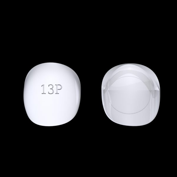 Tiptonic Finger Pick 13P - top and bottom view