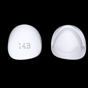 Tiptonic Finger Pick 14B - top and bottom view