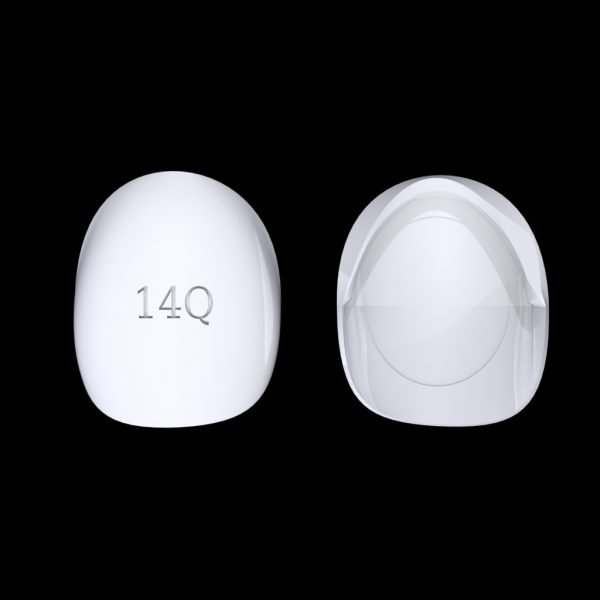 Tiptonic Finger Pick 14Q - top and bottom view