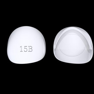 Tiptonic Finger Pick 15B - top and bottom view