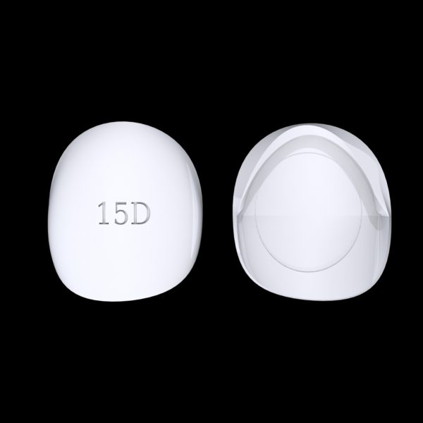 Tiptonic Finger Pick 15D - top and bottom view