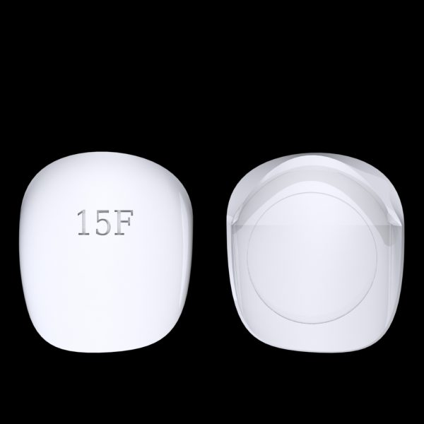 Tiptonic Finger Pick 15F - top and bottom view