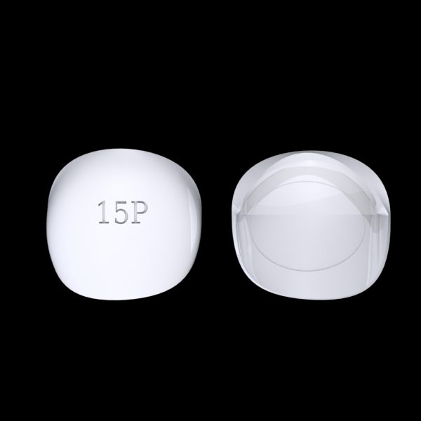 Tiptonic Finger Pick 15P - top and bottom view