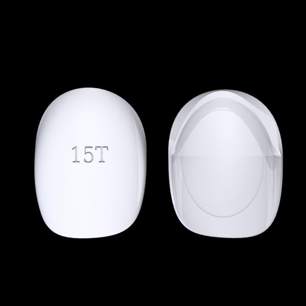 Tiptonic Finger Pick 15T - top and bottom view