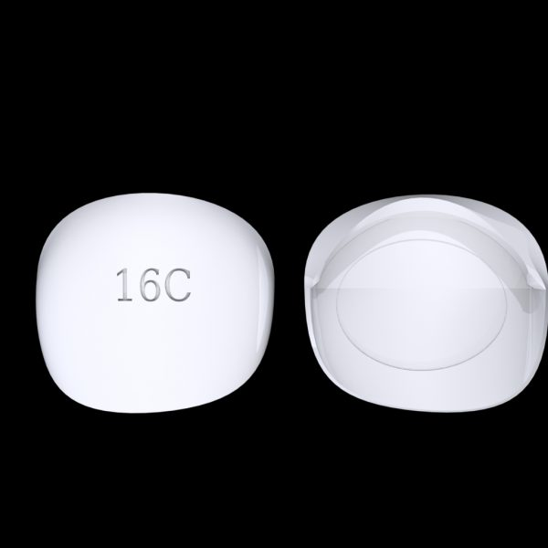 Tiptonic Finger Pick 16C - top and bottom view