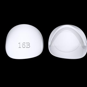 Tiptonic Finger Pick 16B - top and bottom view