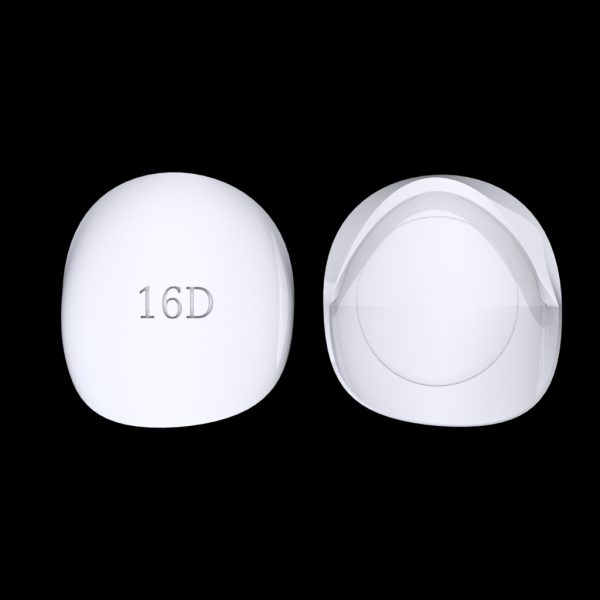 Tiptonic Finger Pick 16D - top and bottom view
