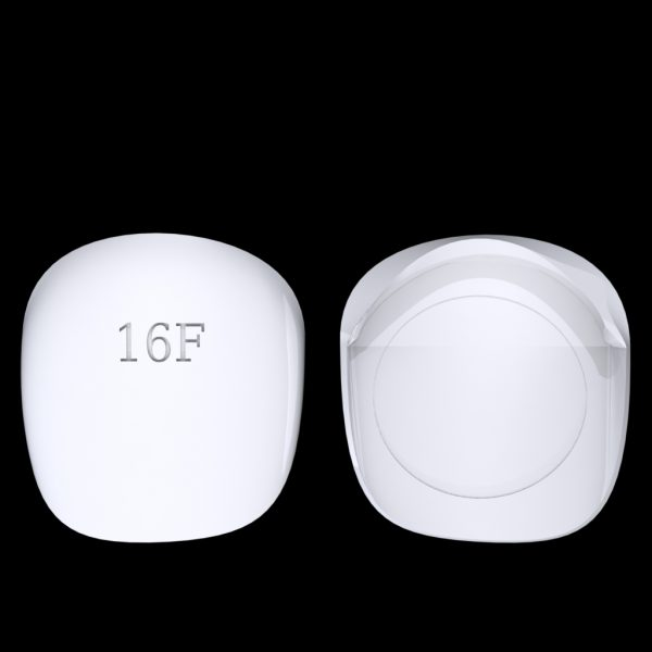 Tiptonic Finger Pick 16F - top and bottom view