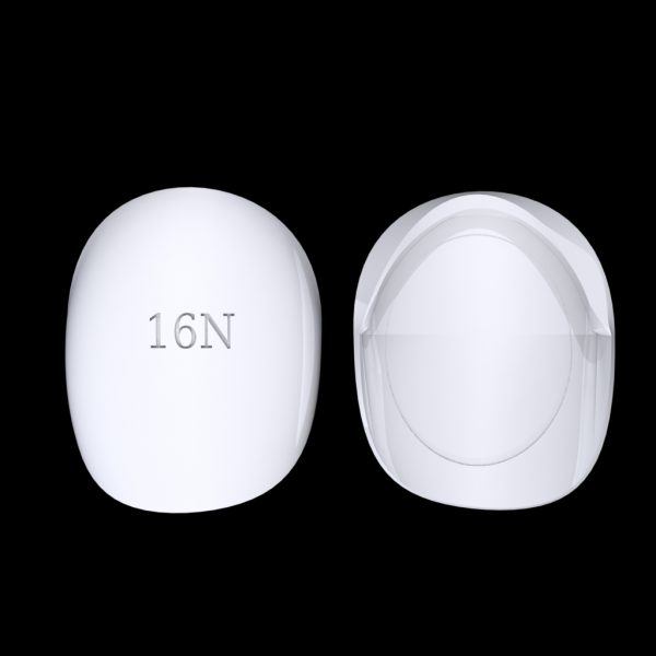 Tiptonic Fingernail Pick 16N - top and bottom view