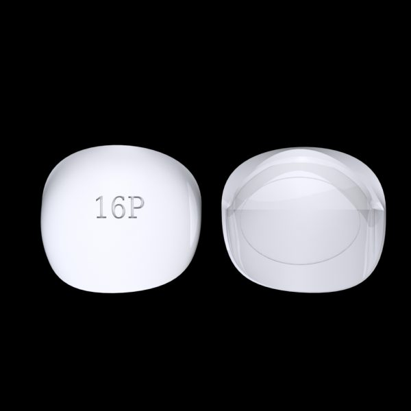 Tiptonic Fingernail Pick 16P - top and bottom view