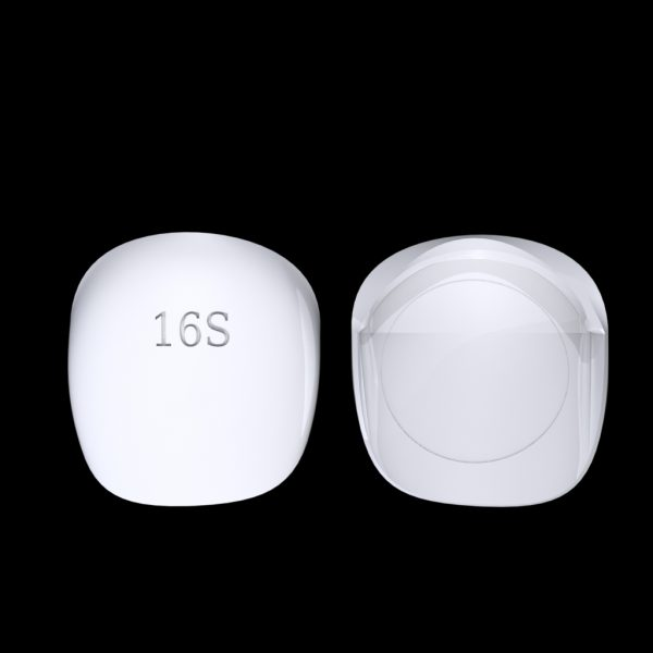 Tiptonic Finger Pick 16S - top and bottom view