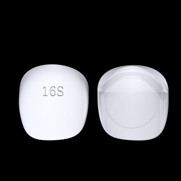 Tiptonic Fingernail Pick 16S - top and bottom view