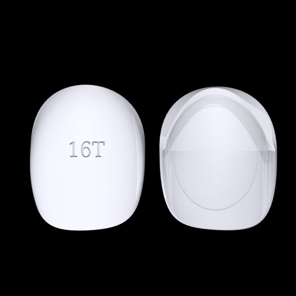 Tiptonic Finger Pick 16T - top and bottom view