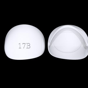 Tiptonic Finger Pick 17B - top and bottom view