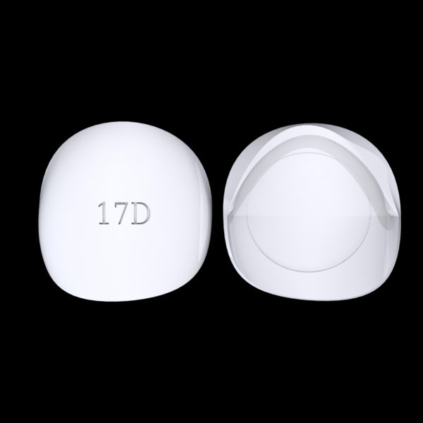 Tiptonic Finger Pick 17D - top and bottom view