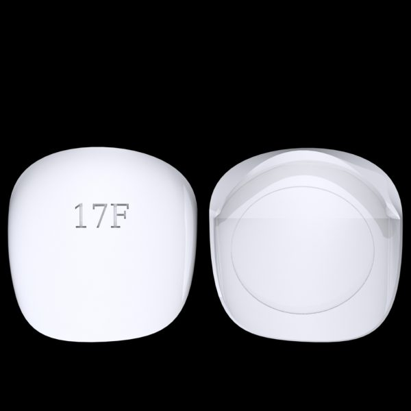 Tiptonic Finger Pick 17F - top and bottom view