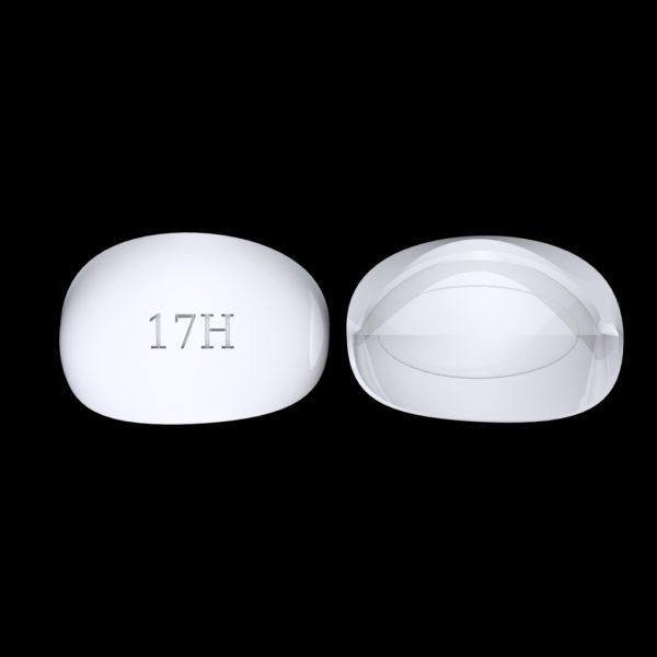 Tiptonic Fingernail Pick 17H - top and bottom view