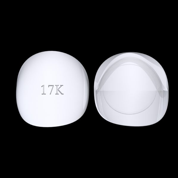 Tiptonic Finger Pick 17K - top and bottom view
