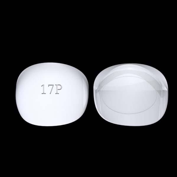 Tiptonic Finger Pick 17P - top and bottom view