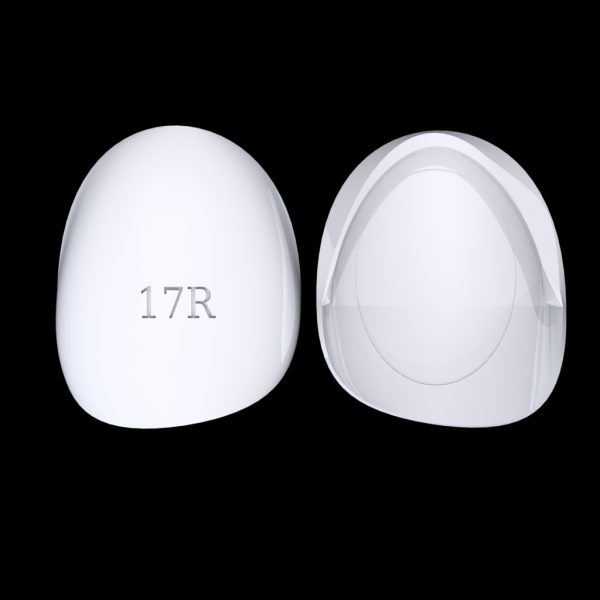 Tiptonic Finger Pick 17R - top and bottom view