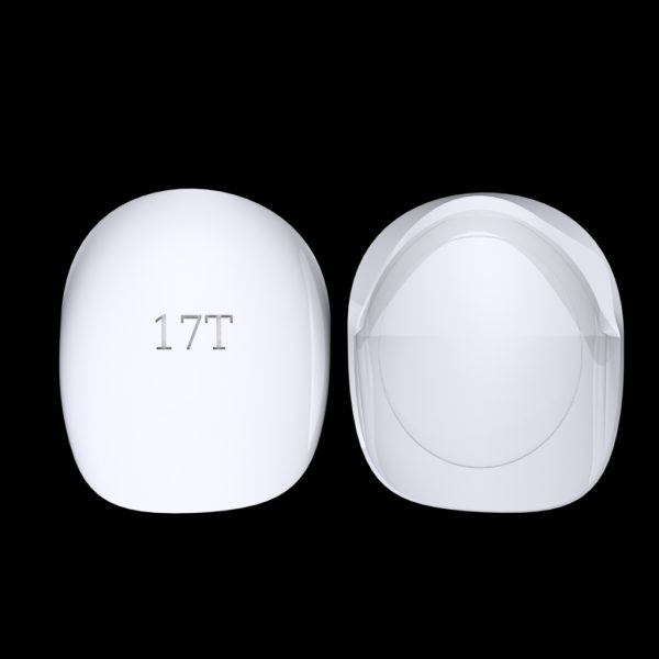 Tiptonic Finger Pick 17T - top and bottom view