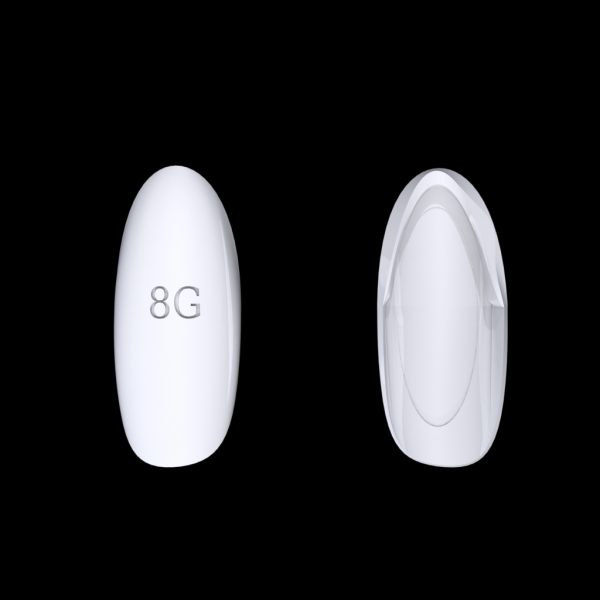 Tiptonic Finger Pick 8G - top and bottom view