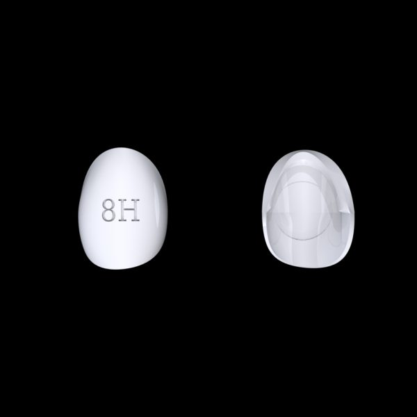 Tiptonic Finger Pick 8H - top and bottom view
