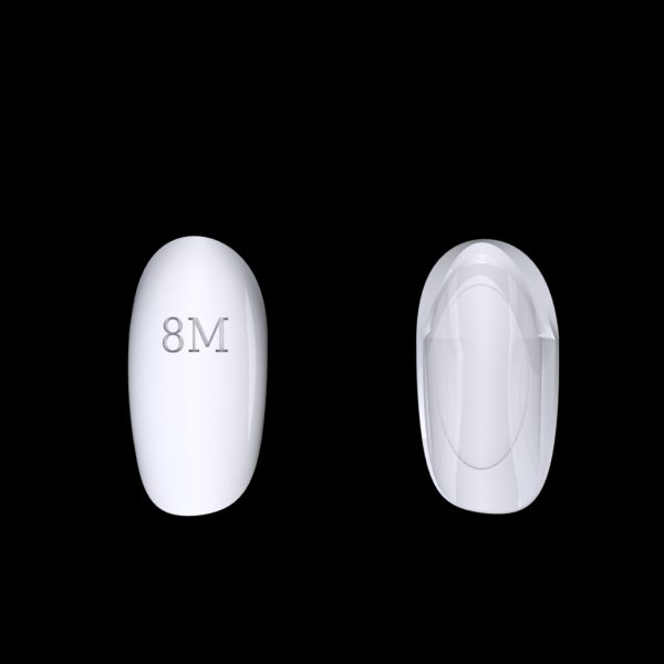 Tiptonic Finger Pick 8M - top and bottom view