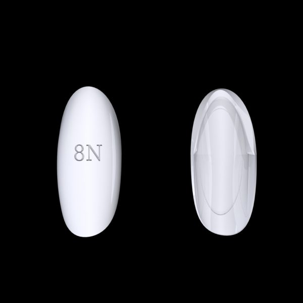 Tiptonic Finger Pick 8N - top and bottom view