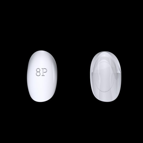 Tiptonic Finger Pick 8P - top and bottom view