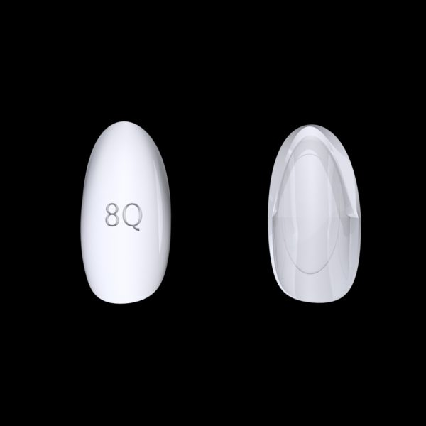 Tiptonic Finger Pick 8Q - top and bottom view