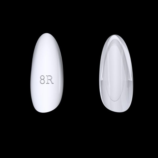 Tiptonic Finger Pick 8R - top and bottom view