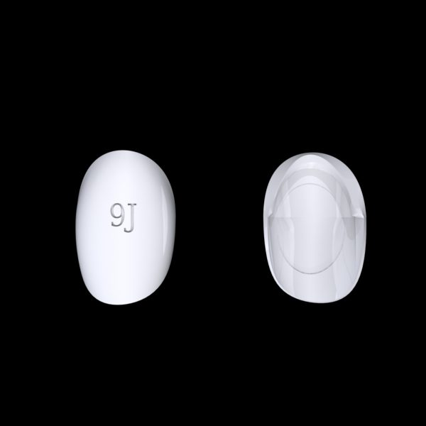 Tiptonic Finger Pick 8J - top and bottom view