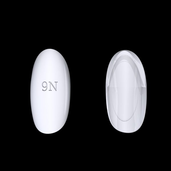 Tiptonic Finger Pick 9N - top and bottom view