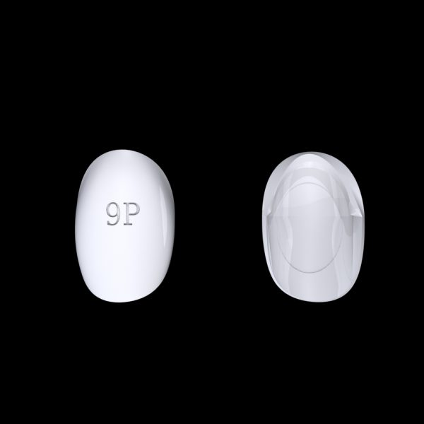 Tiptonic Finger Pick 9P - top and bottom view