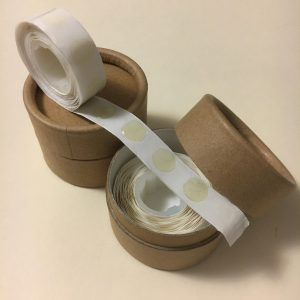 Replacement Premium Activator Adhesive Roll and Medium Paperboard Tube Case