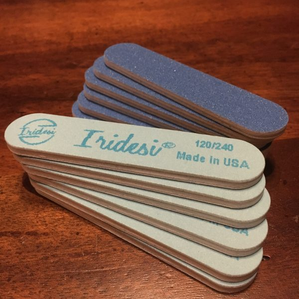 High Quality Fingernail Files Fine Finish perfect for smoothing the playing surfaces and tops of Tiptonic Finger Picks